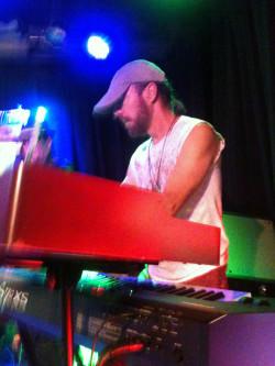 Jim at keyboard